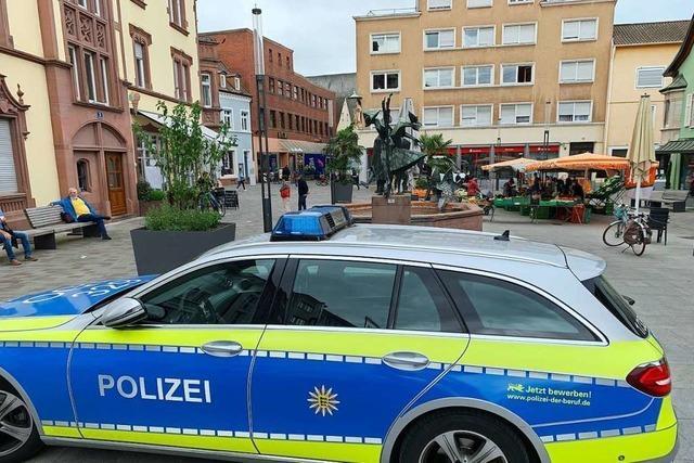 Erste Lockerungen bescheren der Polizei wieder mehr Einsätze