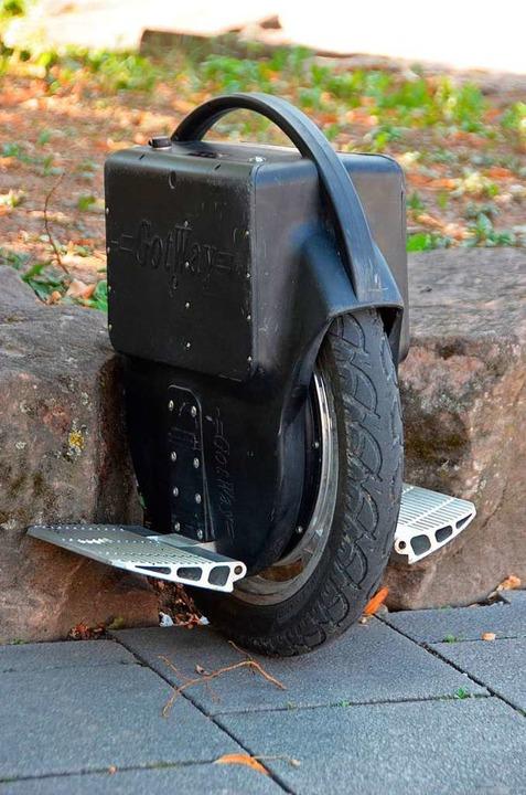 Ein Beispiel für ein Monowheel.  | Foto: Susanne Ehmann