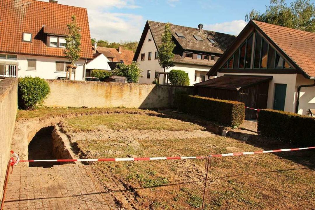 Aktuell laufen Arbeiten auf dem Merdinger Friedhof.    Foto: Mario Schöneberg