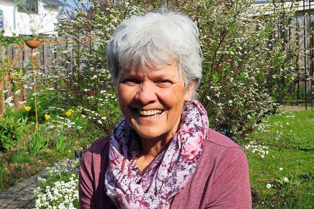 Christa Wießler setzt sich nach 30 Jah... Nachbarschaftshilfe Wittnau zur Ruhe.    Foto: privat