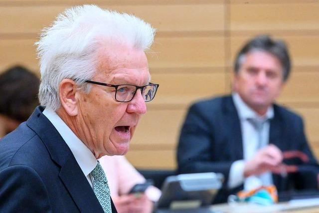 Kretschmann besorgt über Rechtspopulisten bei Widerstand-Demos