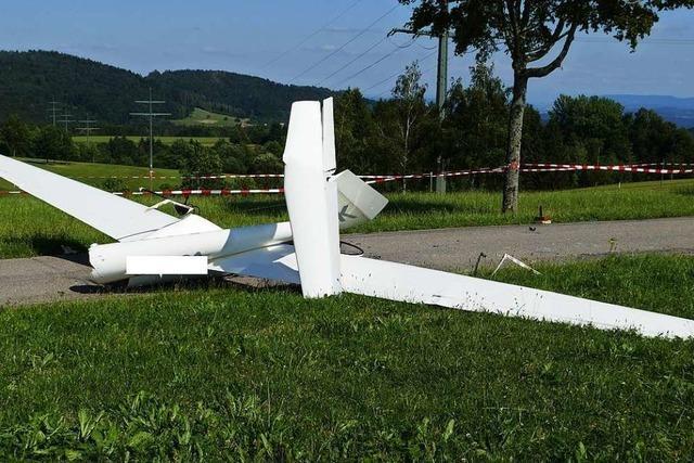 Warum stürzte im Sommer ein 16-Jähriger mit einem Segelflugzeug ab?