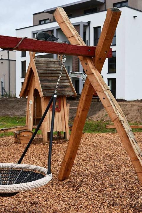 Der Spielplatz am Jägeracker wird ebenfalls wieder geöffnet.  | Foto: Benedikt Sommer