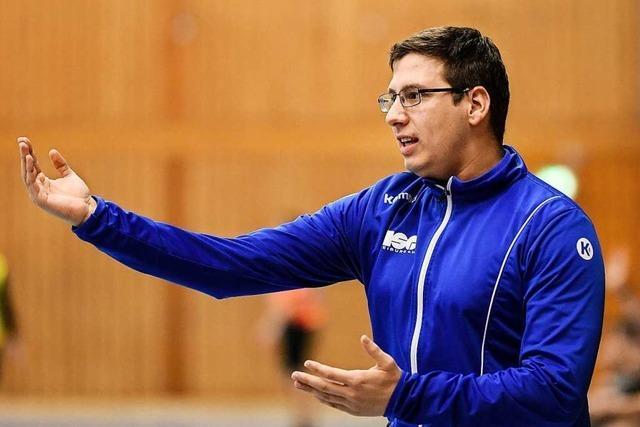 Maximilian Wachter soll das Perspektivteam der neuen HU Freiburg in der Landesliga führen
