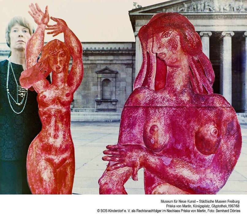 Werke von Priska von Martin sind im Mu... Kunst zu sehen, das am 8. Mai öffnet.  | Foto: Bernhard Dörries