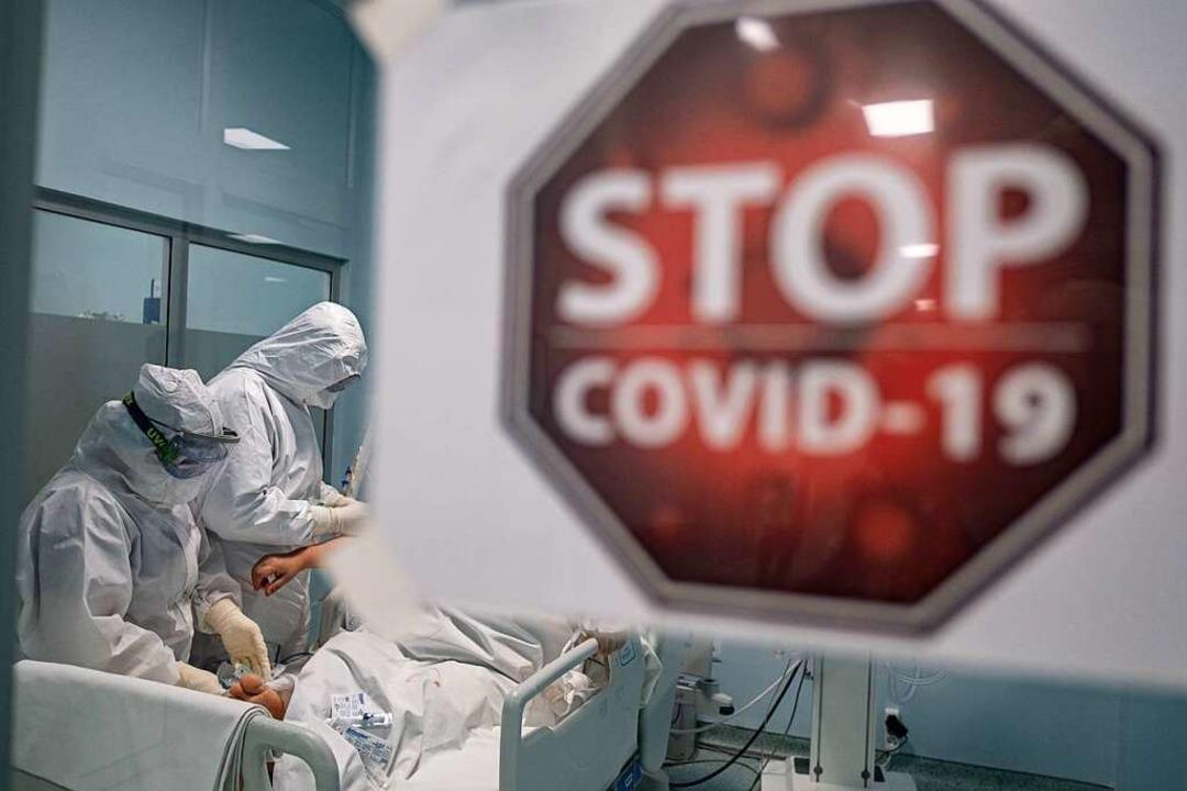 Behandlung auf einer Intensivstation (Symbolbild)  | Foto: Yasin Akgul (dpa)