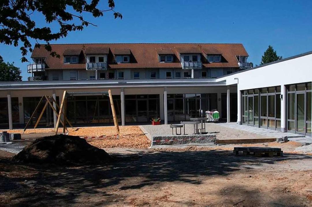 Der Rosenburg-Kindergarten ist fertigg...gartens Kirchgasse sind nun umgezogen.    Foto: Volker Münch