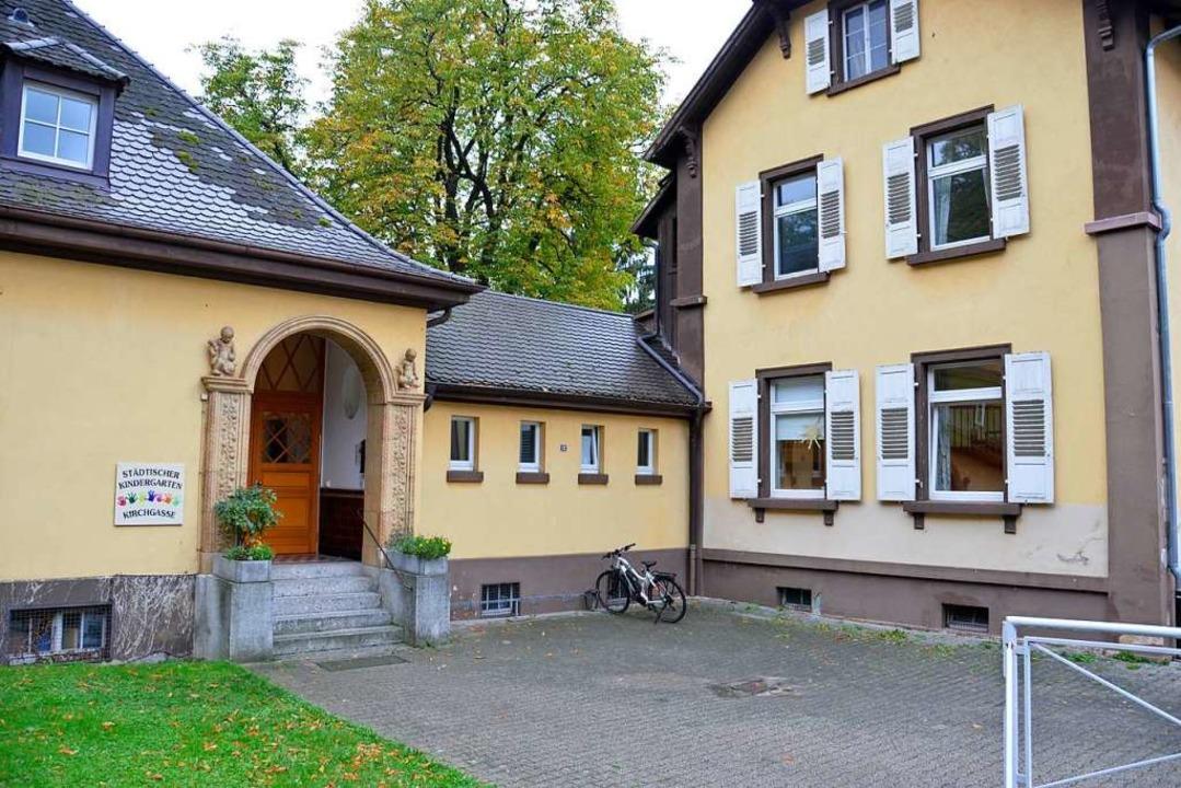 Der Kindergarten in der Kirchgasse steht nun leer. (Archivbild)    Foto: Sophia Hesser