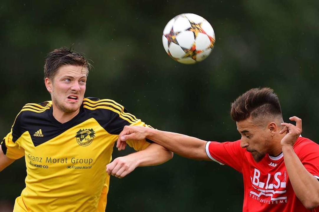 Teamplayer und Torjäger: Alexander Winter vom Bezirksligisten SV Hölzlebruck  | Foto: Patrick Seeger