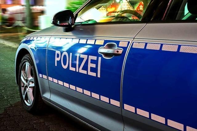 Polizeieinsatz sorgt für Aufsehen in Freiburg-Weingarten