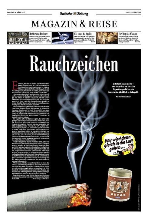 Für die Gestaltung des Magazins der Ba...en begehrten European Newspaper Award.  | Foto: bz