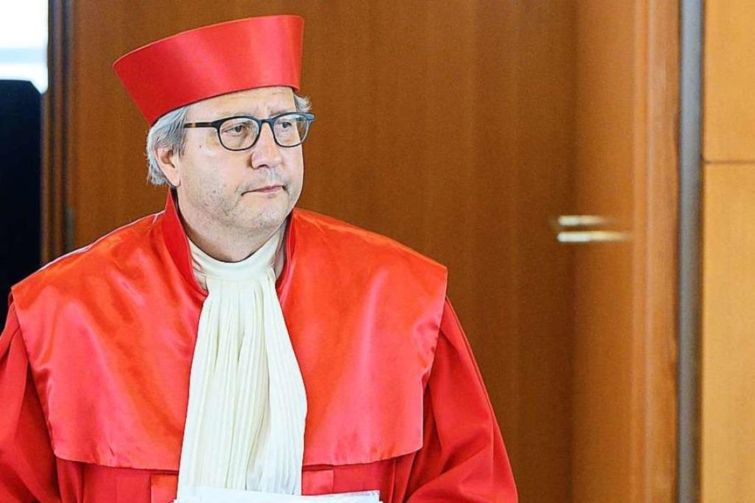 Andreas Voßkuhle ist nun wieder Professor in Freiburg.  | Foto: SEBASTIAN GOLLNOW (AFP)