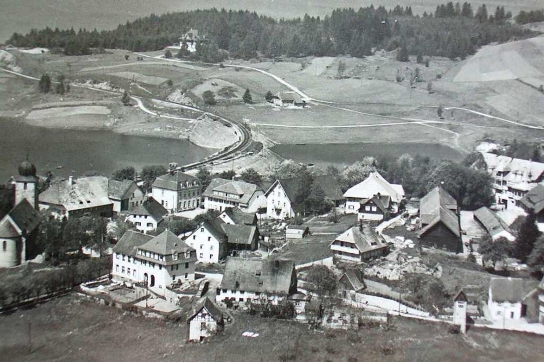 Schluchsee wurde am 26. April 1945 kam...en Franzosen besetzt.   (Foto um 1940)  | Foto: Archiv Friedbert Zapf