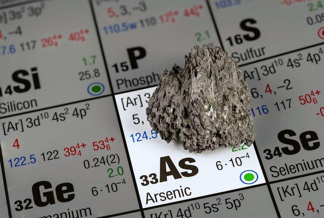 Arsen ist ein Halbmetall, das auch nat...en Verbindungen ist es jedoch  giftig.  | Foto: natros - stock.adobe.com