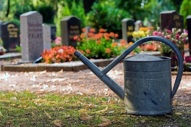 Gießservice fürs Grab