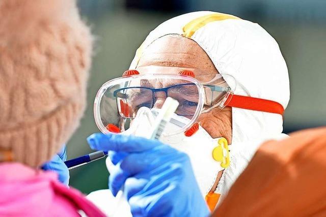 Zahl der Neuinfektionen in Freiburg ist seit einer Woche relativ stabil