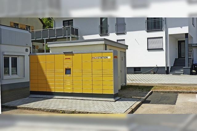 Packstation in Schönau zieht um in die Stadtmitte