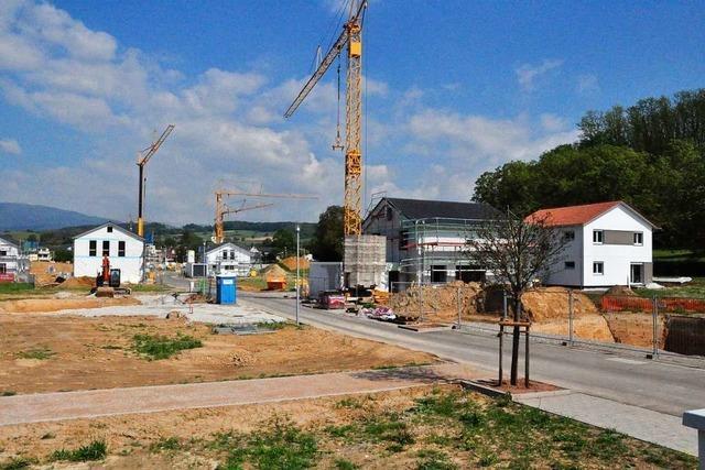 In Schliengen entstehen fünf neue Baugebiete