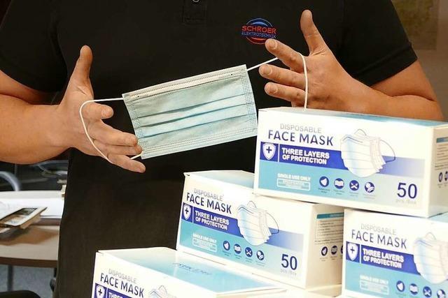 Schopfheimer will 5000 Mund-Nasen-Masken spenden