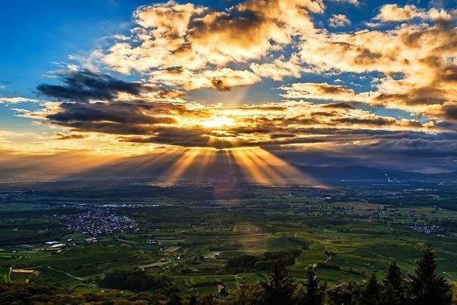 Grandioser Sonnenaufgang am Eichelspitzturm