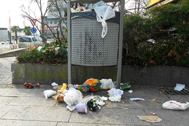 Weils Oberbürgermeister kritisiert die Müllstrategie des Landkreises