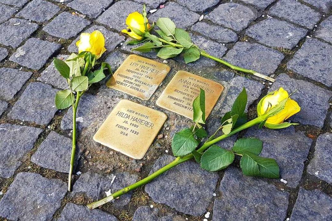 Heute erinnert ein Stolperstein in Lahr an Karl Ungers Schicksal.  | Foto: Karl Kovacs