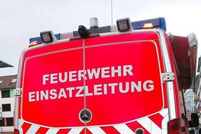 Defekter Wasserkocher führt zu Küchenzeilenbrand in Waldkirch