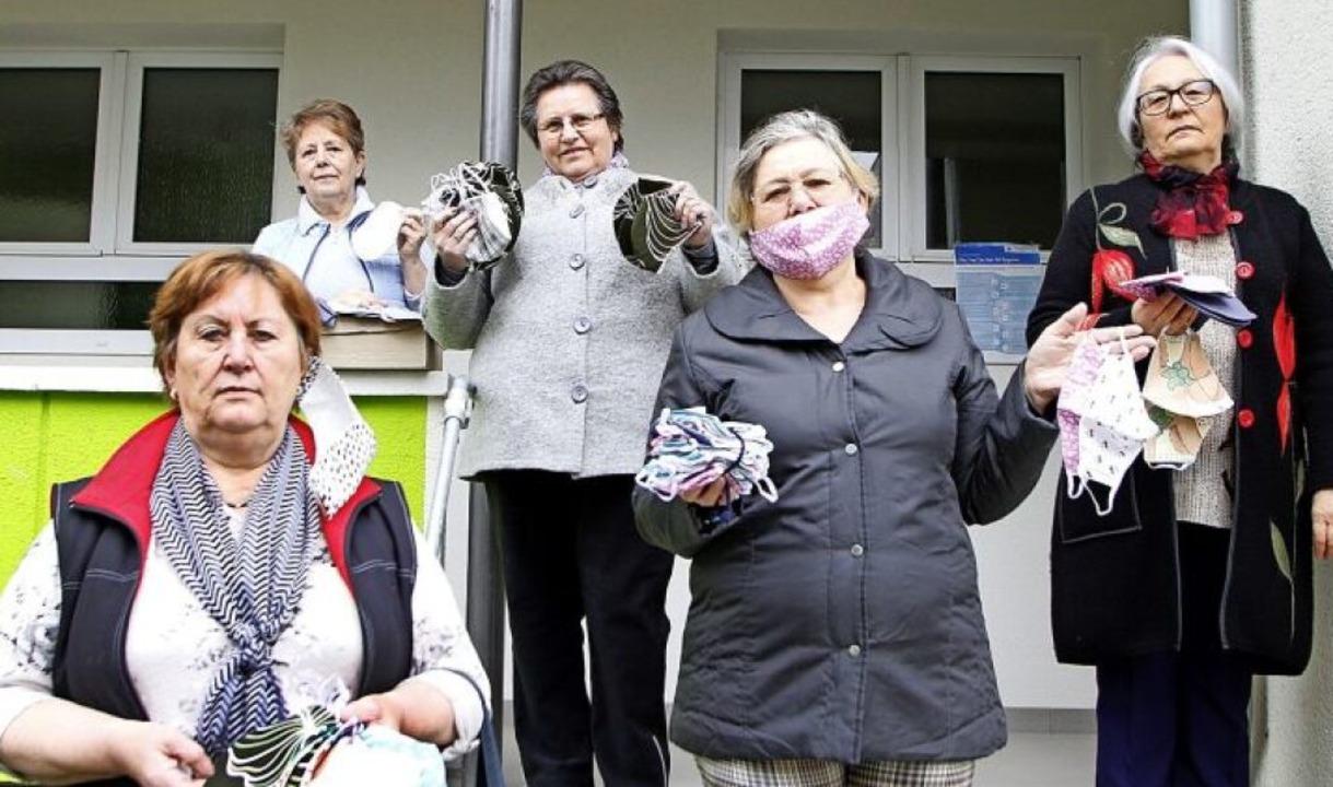 <BZ-FotoAnlauf>FleiSSige Frauen: </BZ-... zur Verfügung oder wurden gespendet.   | Foto: Heidi Fößel