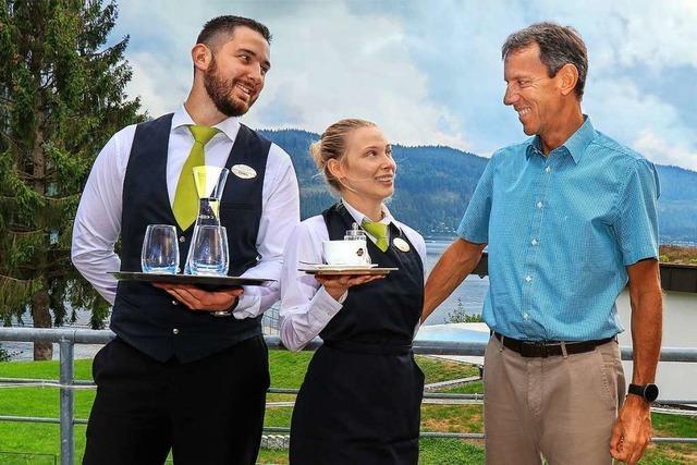 Hotelier Wiesler in Titisee reagiert erleichtert auf die Lockerungen für Dehoga