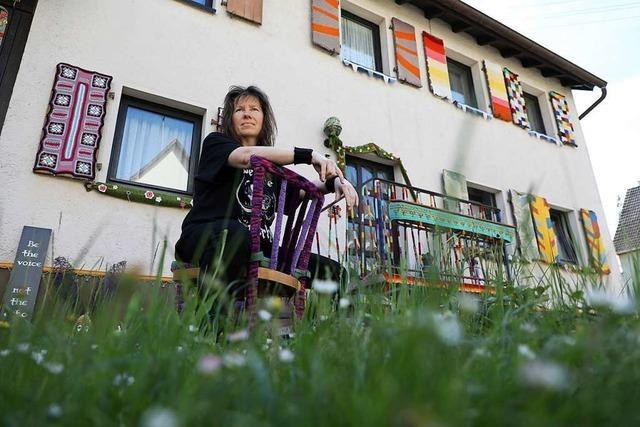 Warum ein Haus in Lahr-Sulz eingehäkelt wird