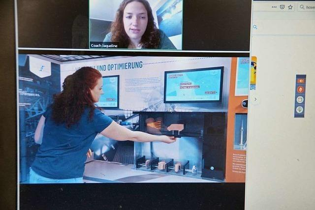 Schüler aus Gundelfingen erhalten in Webinaren Einblicke in die Industriewelt