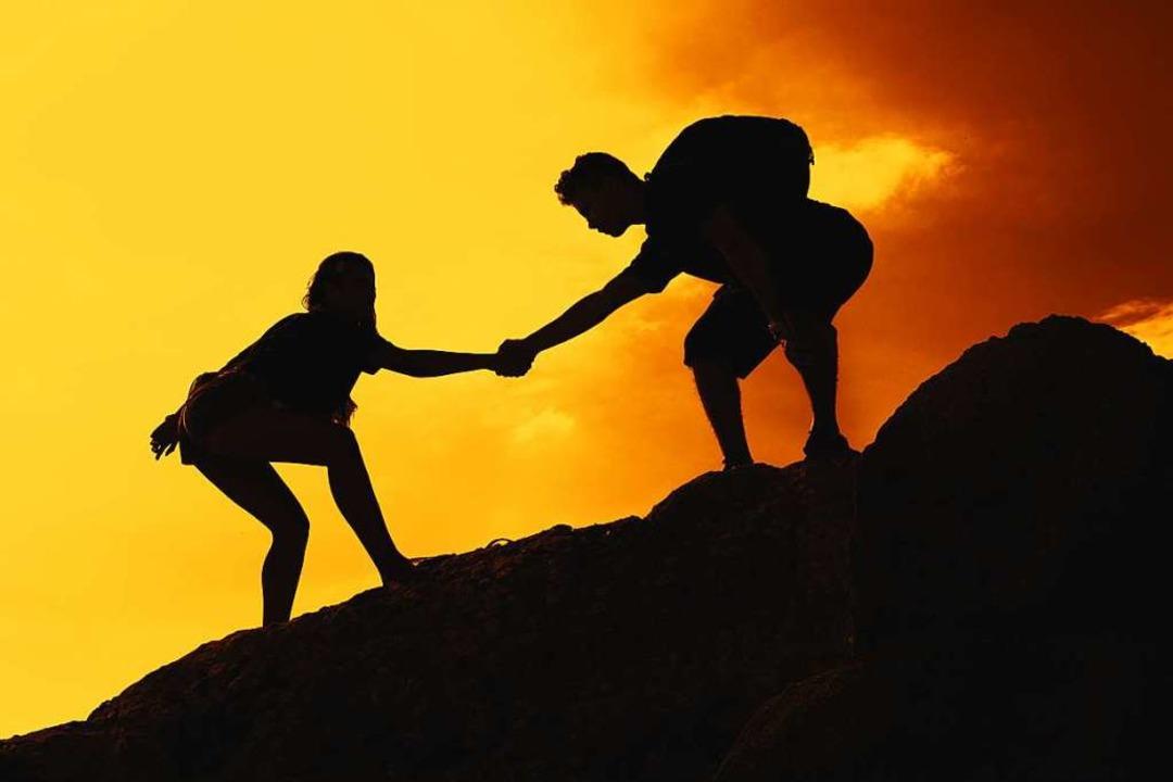 Dem anderen die Hand reichen? Rutger B...eien im Grunde sozial und solidarisch.  | Foto: Daniel Ernst  (stock.adobe.com)