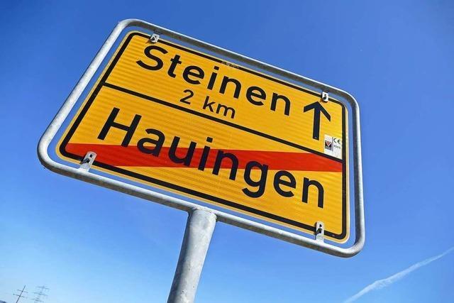 L 138 zwischen Hauingen und Steinen als Provisorium wieder offen