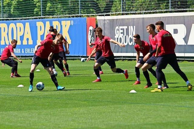 Der SC Freiburg bereitet sich auf Auswärtsspiel in Leipzig vor