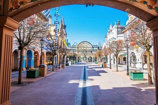Der Europa-Park könnte an Pfingsten wieder öffnen