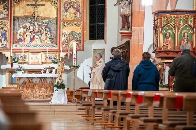 Katholische Gottesdienste öffnen ihre Türen