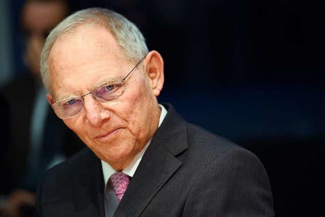 Schäuble: Europa bleibt richtige Antwort auf Zweiten Weltkrieg
