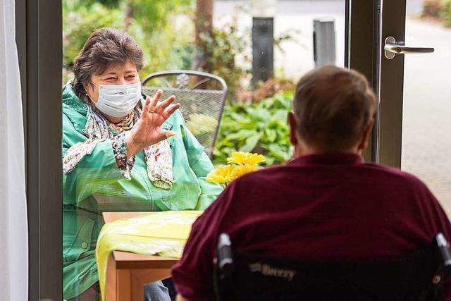 Betreiber von Pflegeheimen sehen Lockerungen mit großer Sorge