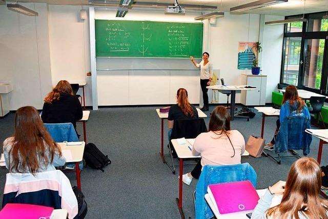 An der Realschule am Giersberg in Kirchzarten findet wieder Unterricht statt