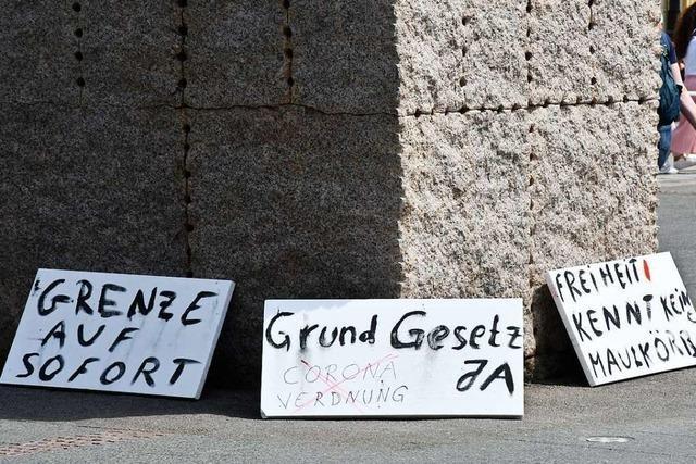 Woher der Widerstand gegen Corona-Maßnahmen in Lörrach kommt
