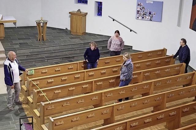 Evangelische Gottesdienste nur noch mit Abstand
