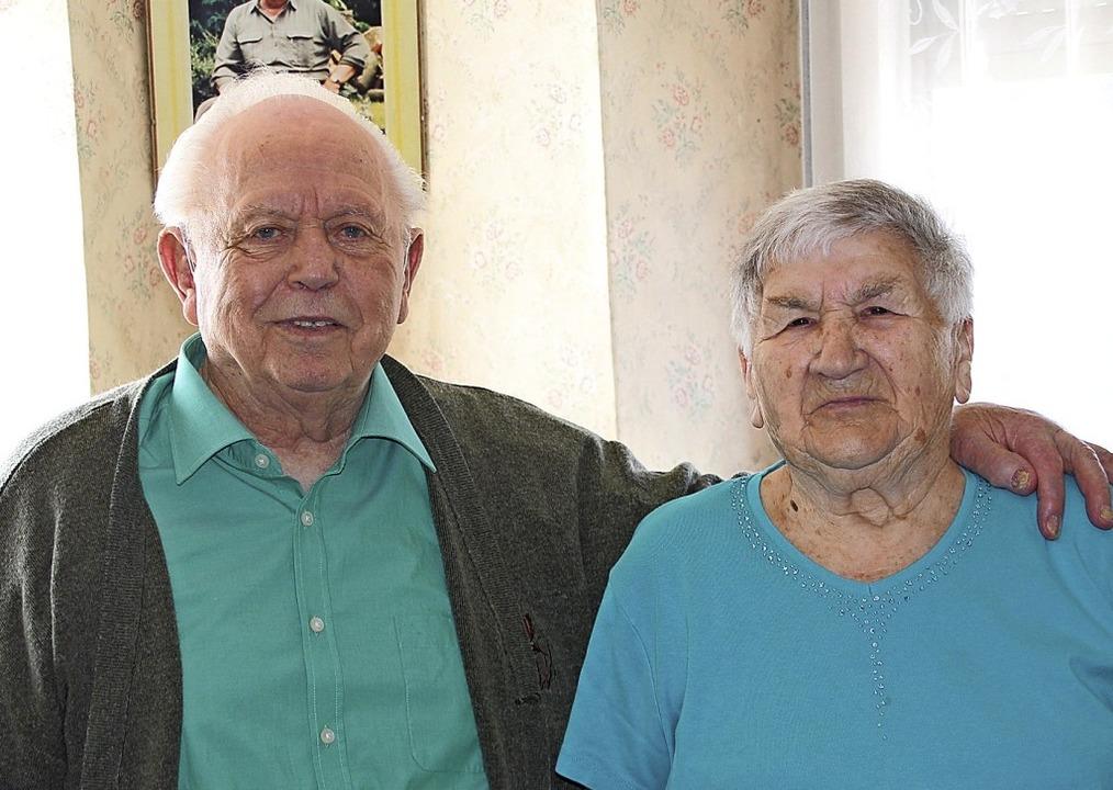 Das Paar feiert heute die Gnadenhochzeit.   | Foto: Hans Spengler