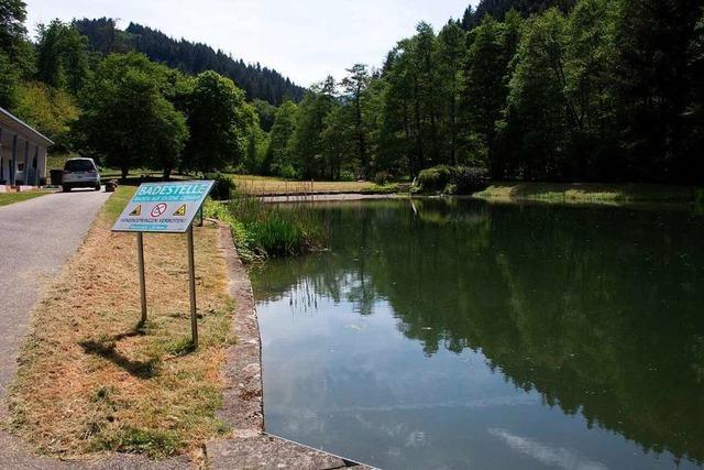 Die Badestelle in Sulzburg ist jetzt wieder geöffnet