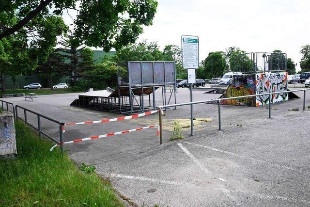 Skaterplatz bleibt weiterhin geschlossen