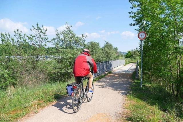 Ab 11. Mai ist der Zugang zum Rhein von Efringen-Kirchen aus gesperrt