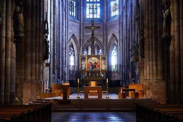Nur die katholische Kirche startet dieses Wochenende mit Gottesdiensten