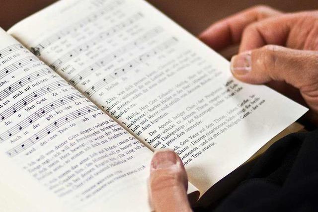 Am Sonntag werden Gottesdienste ohne Gesang gefeiert