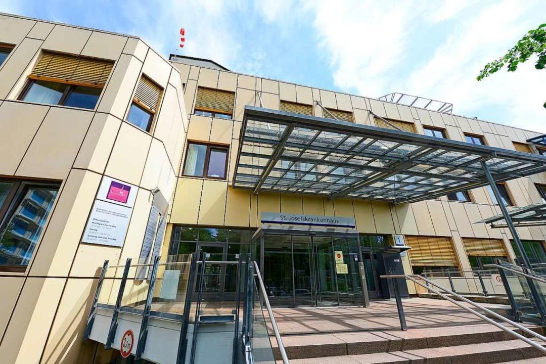 Das St. Josefskrankenhaus gehört zum R...rbund, der neue Gesellschafter sucht.   | Foto: Ingo Schneider