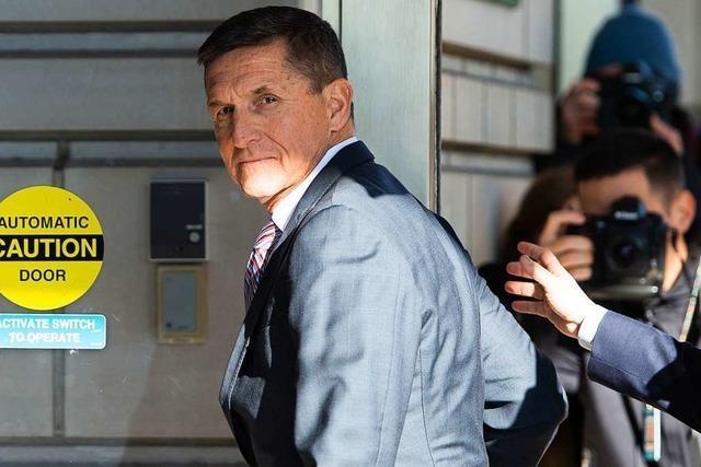 Kein Strafverfahren mehr gegen Trumps einstigen Vertrauten Flynn