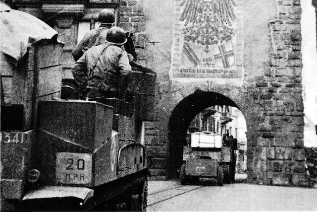 So war die Situation in Freiburg nach der Kapitulation am 8. Mai